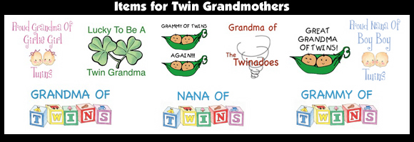 Items for Twin Grandmothers