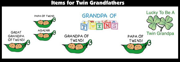 Items for Twin Grandfathers