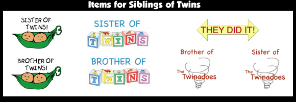Items for Siblings of Twins