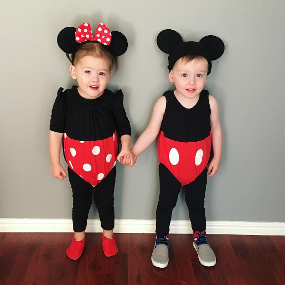 Baby Boy And Girl Halloween Costume Ideas.Twin Halloween Costume Ideas Scrappin Twins