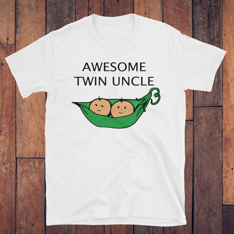 Aunt & Uncle of Twins Tees