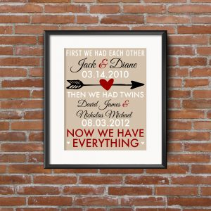 Twin Family Printables