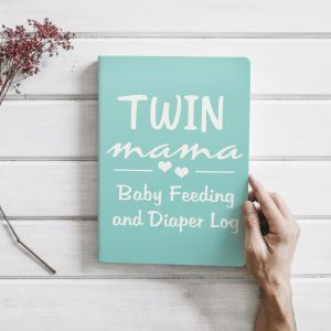 Twin Mom Journals and Baby Logs